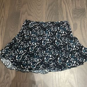 aritzia sunday best zelda navy skirt